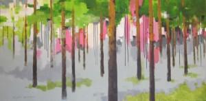 2011, akryyli kankaalle, 120 cm x 60 cm