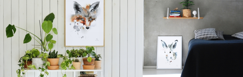 estervisual banner fox & hare